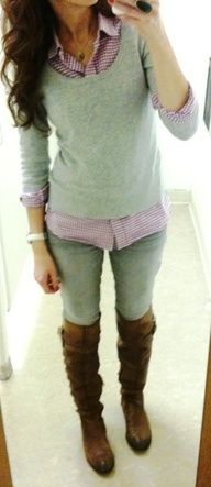 This blog has tons of really simple and cute outfits and places to buy the pieces on a budget!