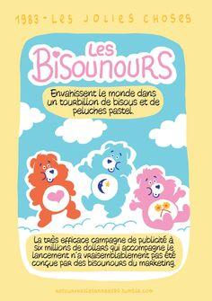Ils sont de couleur pastel, ronds et doux… Voici venir les Bisounours.