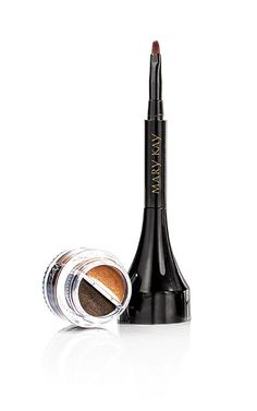 The Limited-Edition Mary Kay® Gel Liner Duo glides on smoothly with a lightweight formula in bold metallic hues.
