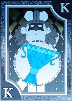 Persona 3/4 Tarot Card Deck HR - King of Cups by Enetirnel