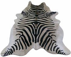 Axis Deer Print Cowhide Rug Size: 7.7 X 5.7 ft Deer Print Cowhide M-111 #cowhidesusa #Contemporary