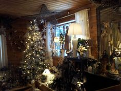Amazing Christmas decorations from a local Norwegian store.