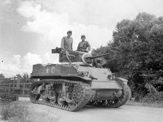 American light tank M5 'Stuart' (Stuart) 2nd Armored Division