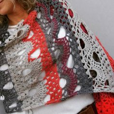 Untitled Scarfs, Knitwear, Crochet, Handmade, Fashion, Moda, Tricot, Fashion Styles, Knit Crochet