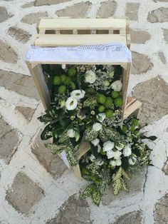 Wedding deco, Antiparos church, lafetegr, Greek wedding, wooden basket,