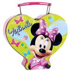 Disney Minnie Mouse Tin Box Carry All birthday party supplies Birthday Party Supplies birthday party decorations