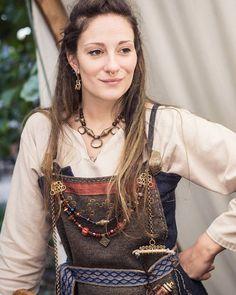 Úlfa Snjórdóttir Viking reenactment