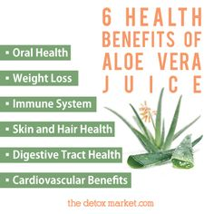 Aloe vera juice is INCREDIBLE for you, inside and out. Here are 6 notable health benefits!