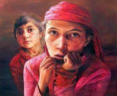 Brother And Sister  Artist Yan Yaya