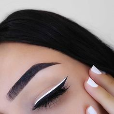 This #EOTD by @thecutestberry is so good She used our White Liquid Liner    #nyxcosmetics #nyxprofessionalmakeup