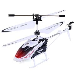 Helicopter  Super buy Red Syma S5 3CH Remote Control Mini RC Helicopter LED Searching Light New >>> More info could be found at the image url.