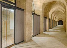 Giancarlo Rosa, Ex Mercato di Gallipoli, Galleria al piano banchina (foto di F. Vinardi)