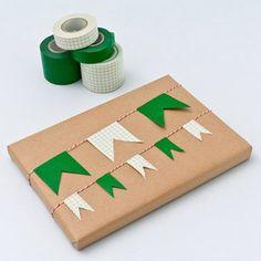 Cute idea using washi taor