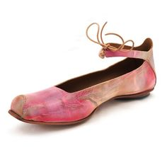 "#shoes @cydwoq - Reminds me of a Ballet Slipper... Always wanted to ""take Ballet"" as a young child..."