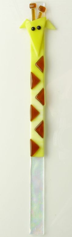 This Giraffe of Fused Glass is the Cutest Accent for your House Plants