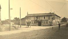 incrocio tra l'Appia Nuova e l'inizio della Tuscolana 1915