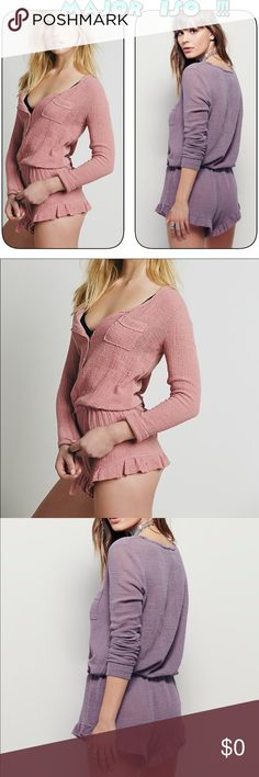 Free People endless summer gauze romper MAJOR  ISO 👀 !!!Hi guys ,I already have this in black and cranberry LOOKING FOR the pink , purple or white in either Small or Xsmall  ISO ISO !! NOT FOR SALE LOOKING TO PURCHASE 👀 for some reason this is sold out everywhere! Since I bought the two I have I am not able to find anymore , l anywhere on any site so if any of my FP people peeps finds one please let me know I will owe ya my life 😜😁😊!! Thanks ! Free People Other