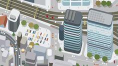 FAW street deploy / Flat design / flat illustration / #flat #illustration