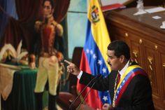 LA VOZ DE SAN JOAQUIN: Maduro cumple un año de su juramentación como pres...
