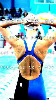 There is no glory in practice. But without practice, there is no glory.