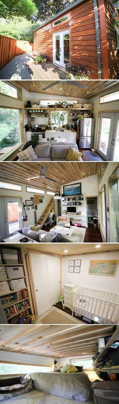 The Urban Cedar Cabin (400 sq ft)