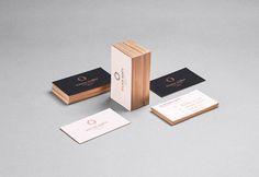 14 of the Best Clean & Minimal Business Card Designs - Branding / Identity / Design