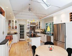 Kitchen Vaulted Ceiling Design Ideas, Pictures, Remodel, and Decor