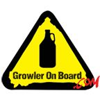 Growler On Board BTU (Beer Transport Units) + stickers