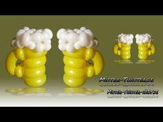 Balloon Beer, Ballon Bier, Modellierballon Ballonfiguren - YouTube