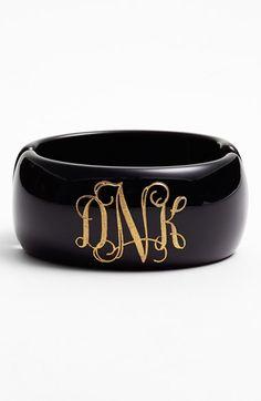 Beautiful monogram bracelet http://rstyle.me/n/mzixhnyg6