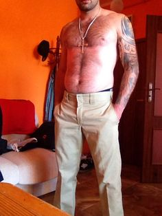 Khaki dickies pants