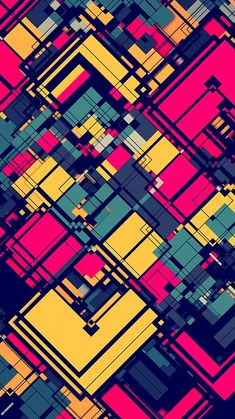 ⌂ Pictures and Wallpapers HD Pink and Yellow Abstract Grid Wallpaper How Different Types Of Water Fi Grid Wallpaper, Graffiti Wallpaper, Colorful Wallpaper, Cool Wallpaper, Pattern Wallpaper, Pink Wallpaper, Phone Backgrounds, Wallpaper Backgrounds, Phone Wallpapers