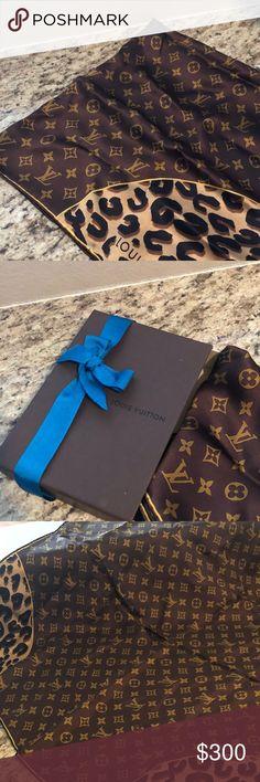 Louis Vuitton Scarf Authentic Louis Vuitton Scarf, new Louis Vuitton Accessories Scarves & Wraps