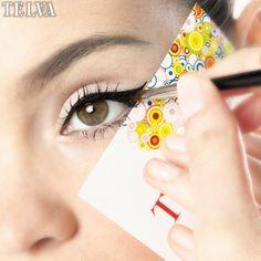 Cómo hacer el eyeliner sin torcerse   Trucos de Belleza   #TrucosBellezaTELVA