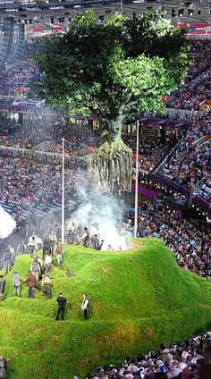 London 2012 Olympic Games Opening Ceremony. I thought they did a wonderful job!