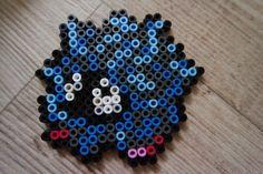 114 Saquedeneu / Tangela - Perler Beads by Vicsene Pokemon Perler Beads, Diy Perler Beads, Perler Bead Art, Pokemon Sprites, 151 Pokemon, Fairy Tail, Beading Patterns, Pixel Art, Dragon Ball