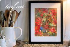 DIY autumn Crafts :DIY Fall Crafts :DIY :art with my