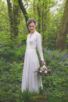 AMY // Vintage dress from Kate Beaumont // Image: Ellie Grace Photography