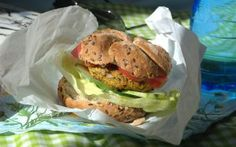 Wegetariańskie burgery warzywne
