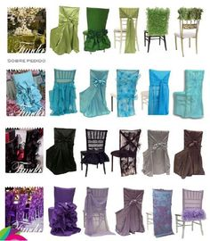 Свадебный декор стульев часть 2 / Свадебные платья и идеи для свадьбы / ВТОРАЯ УЛИЦА