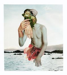 Rocio Montoya Elements chosen in collage give context and informs the subject but the abstraction gives it emotion. Illustration addresses climate change on a personal level, and its distressing nature, juxtaposed with its actual serenity.