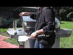 How to get rust off a stainless grill: use Bar Keepers Friend