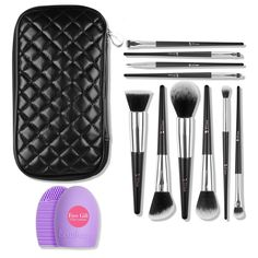 $20.29 --- #Mother's #Day #gift -- DUcare(TM) 10Pcs Makeup Brushes Sets with Case  #get #30% #off #coupon #LF4XCLUF  http://www.amazon.com/dp/B01DY5BW8G