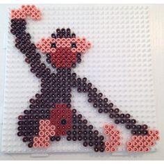 Monkey Kay Bojesen hama perler beads by Natasha Madsen