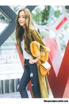 "korean-dreams-girls: ""Jessica (Former SNSD) - Fire Bible Magazine Pics "" Snsd Fashion, Ulzzang Fashion, Asian Fashion, Fashion Outfits, Guys And Girls, Kpop Girls, Girls Generation Jessica, Jessica Jung Fashion, Jessica & Krystal"