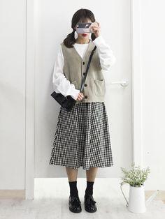 마리쉬♥패션 트렌드북! Korean Girl Fashion, Ulzzang Fashion, Korea Fashion, Hipster Fashion, Vogue Fashion, Japan Fashion, Cute Fashion, Modest Fashion, Daily Fashion