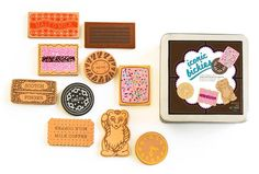 iconic toy - bickies wooden toy biscuits cookies Australian gift tram – makemeiconic