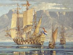 View The arrival of Jan van Riebeeck at the cape by Nils Severin Andersen on artnet. Browse upcoming and past auction lots by Nils Severin Andersen. Cape Dutch, History Online, Viking Ship, Most Beautiful Cities, Antique Maps, African Art, Cape Town, Old Photos, Sailing Ships