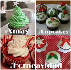 ¡¡Ya se siente el aroma a Navidad!! www.clubcocina.net  #Xmas #Cupcake #Navidad #Horneavidad
