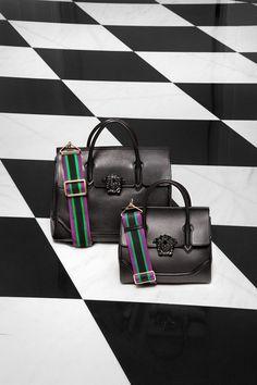 Versace Palazzo Empire bag, small and medium, black calfskin. bag, сумки  модные 6d5fbfc06c